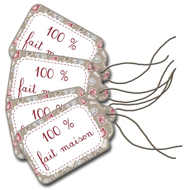 gratuit étiquette handmade à imprimer