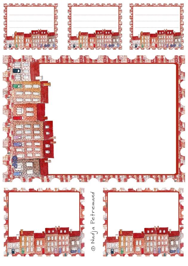 gratuit étiquettes et papier à lettre à imprimer