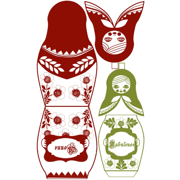 gratuit carte voeux poupée russe matriochka 11