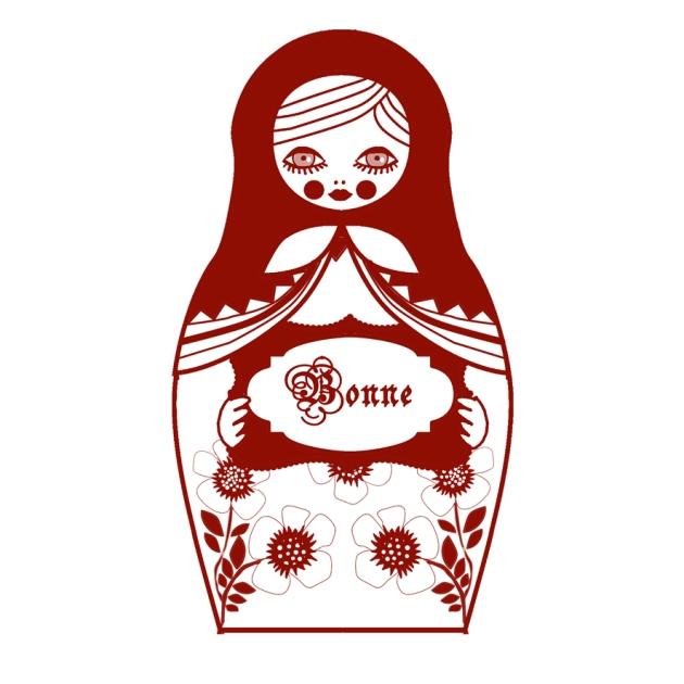 gratuit carte voeux poupée russe matriochka 4