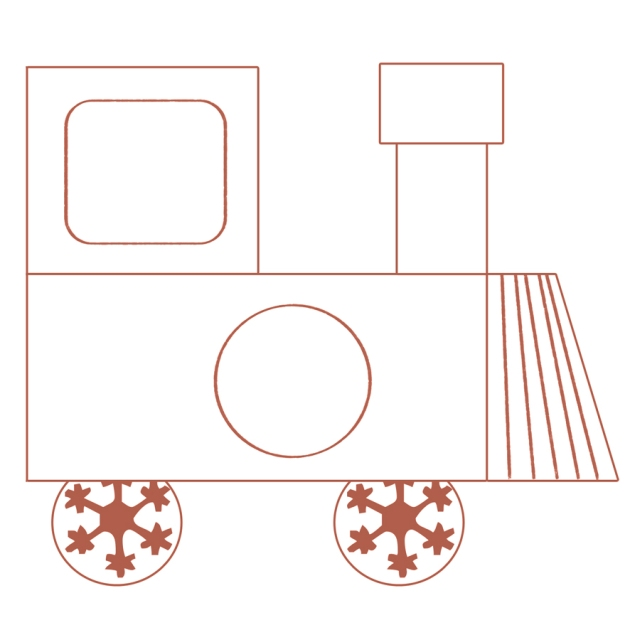 gratuit locomotive paper toys à colorier