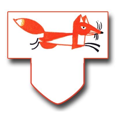gratuit onglet de calendrier 2012-2013 renard à imprimer