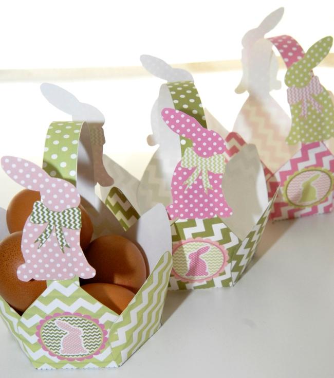 gratuit panier de paques à imprimer 6 free printable easter basket
