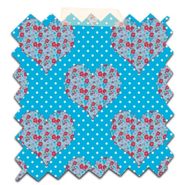 gratuit papier scrapbooking coeur fleur