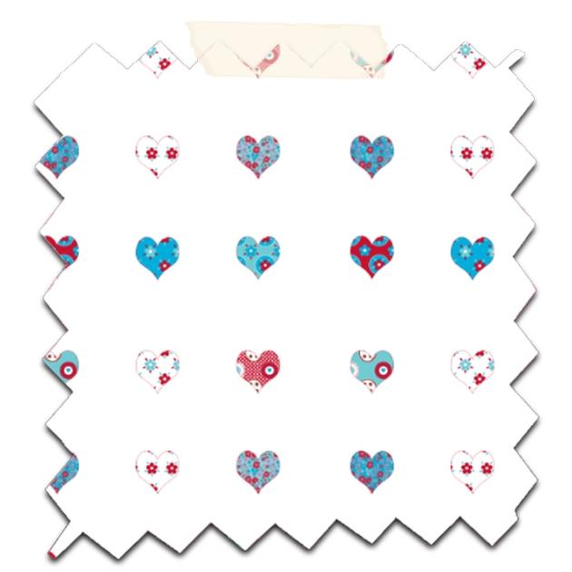 gratuit papier scrapbooking mini coeur fond blanc