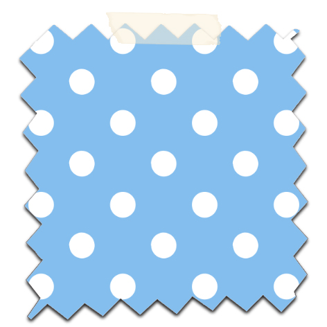 gratuit papier scrapbooking motif pois  blanc fond bleuFree printable patterned papers