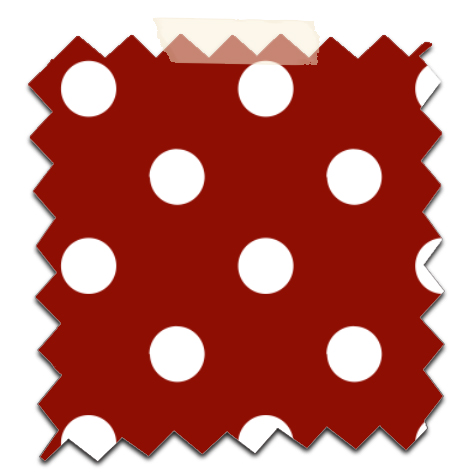 gratuit papier scrapbooking motif pois  blanc fond rouge Free printable patterned papers