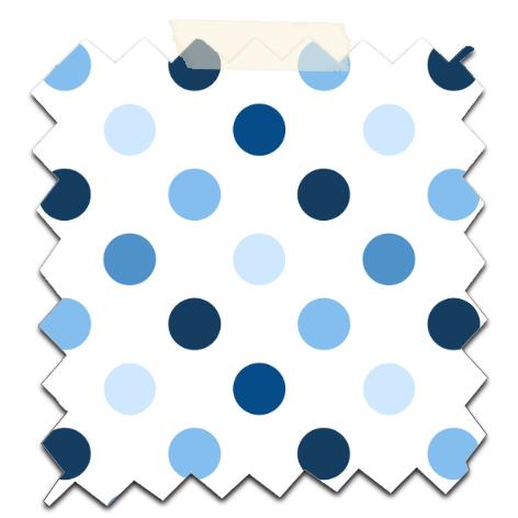 gratuit papier scrapbooking motif pois bleu fond blanc Free printable patterned papers