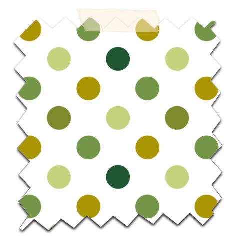 gratuit papier scrapbooking motif pois  vert fond blanc Free printable patterned papers