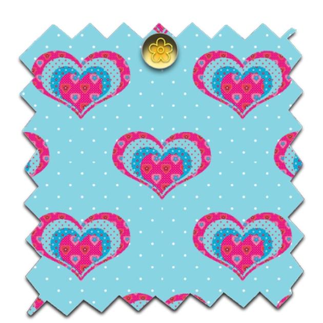 gratuit papier scrapbooking motifs coeur patch