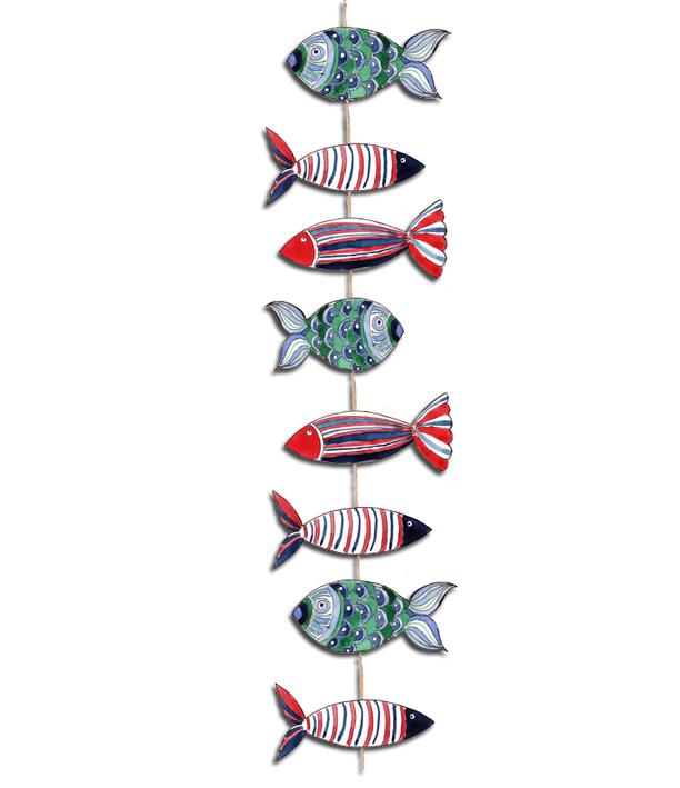 guirlande de poisson cocarde