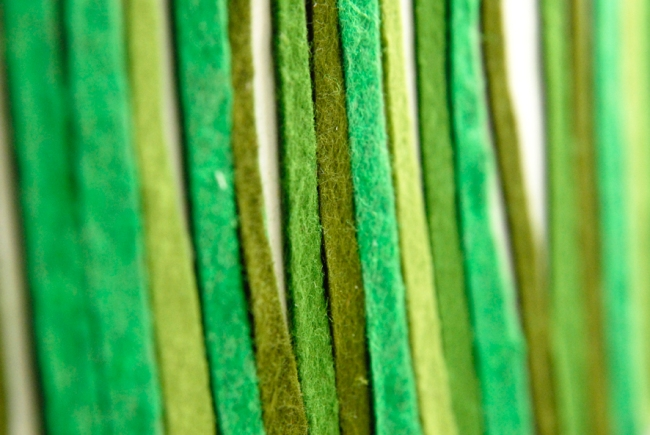 herbe de feutrine