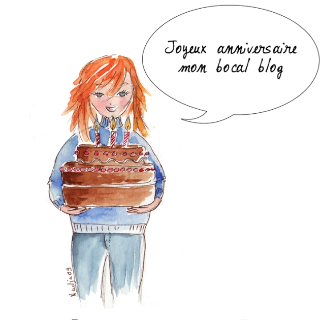 illustration aniversaire blog