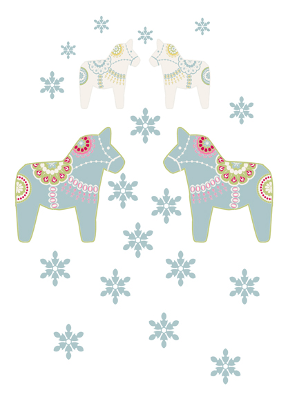 illustration dala horse fevrier