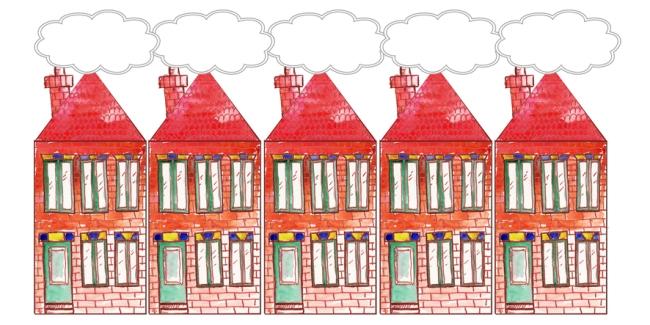 illustration petite maison de brique 1