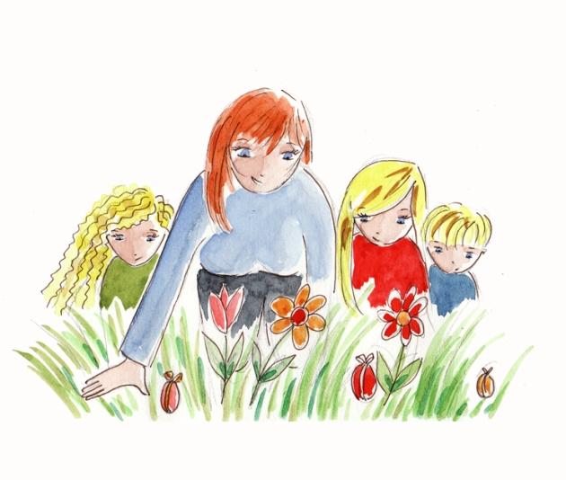 illustration vacance de pâques