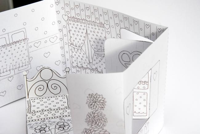maison de poupée en papier 4
