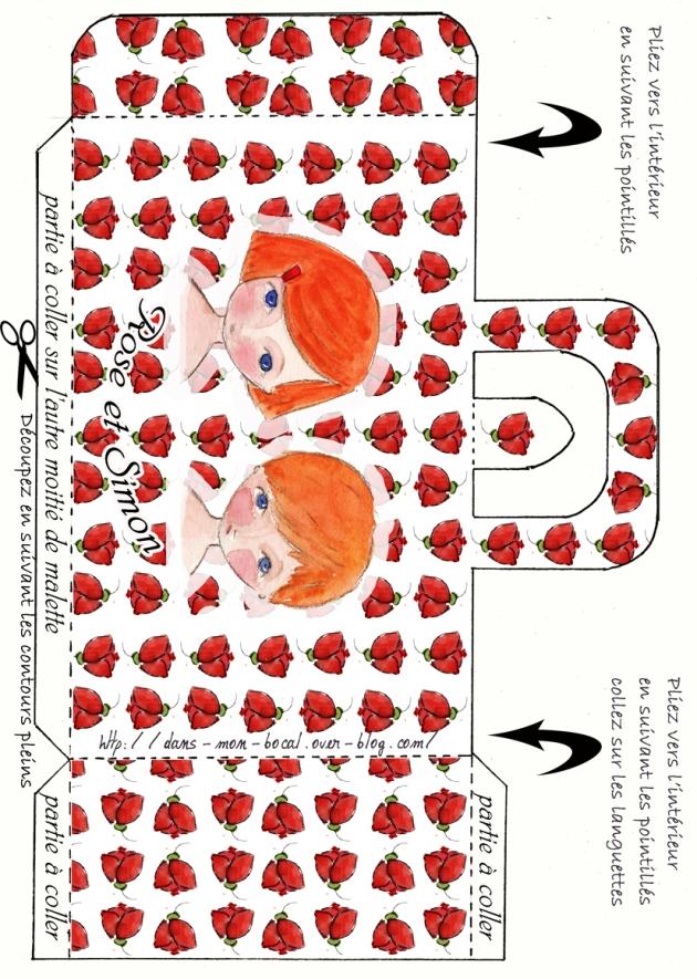 malette rose et simon 2p