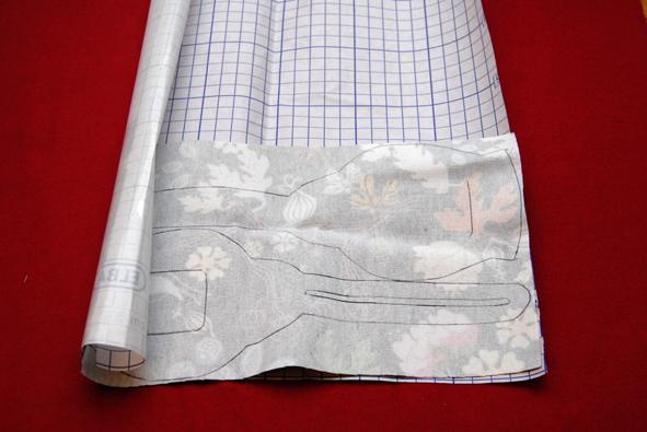 mesurer le papier autocollant