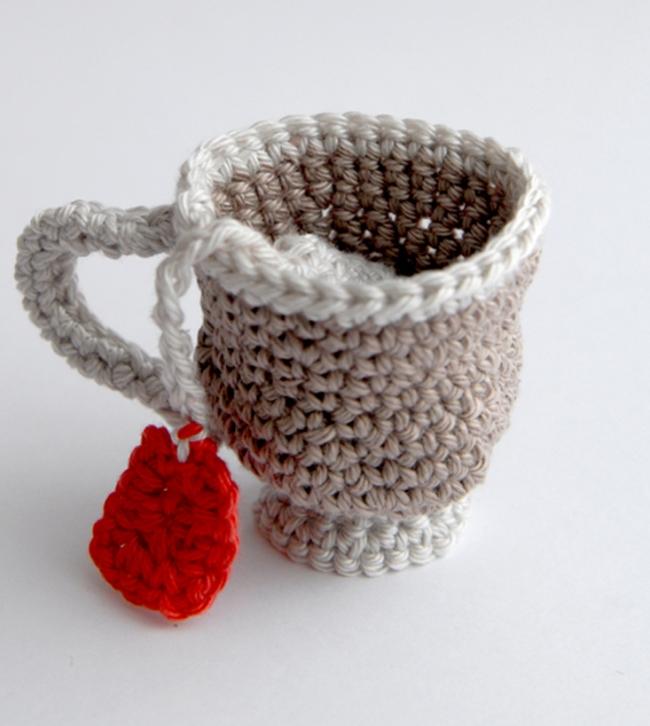 mug au crochet