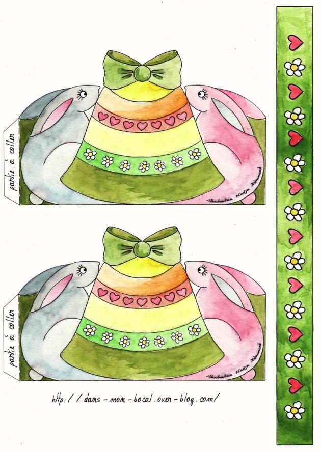 panier de paque couleur planche 1
