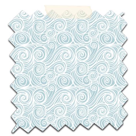 papier scrap gratuit motif houle blanc fond gris