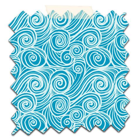 papier scrap gratuit motif houle gris fond bleu
