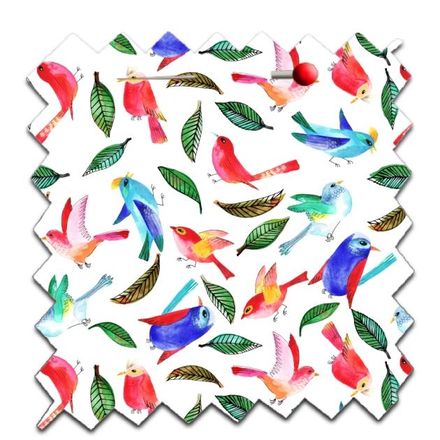 papier scrap gratuit motif oiseau et feuille