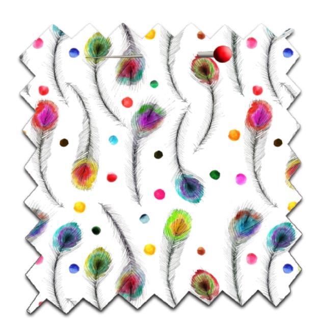 papier scrap gratuit motif plume de paon