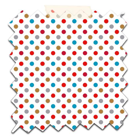 papier scrap gratuit motif pois rouge gris fond blanc