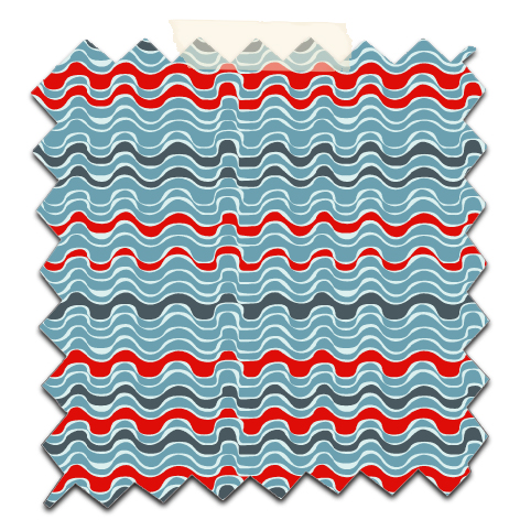 papier scrap gratuit motif vague bleu rouge