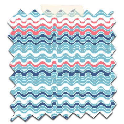 papier scrap gratuit motif vague gris corail