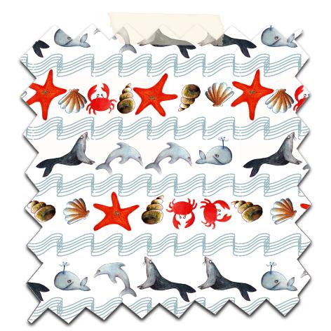 papier scrap gratuit motif vague océan fond blanc