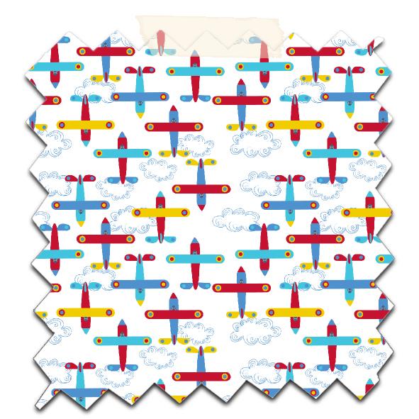 papier scrapbooking à imprimer gratuitement motif avion 10