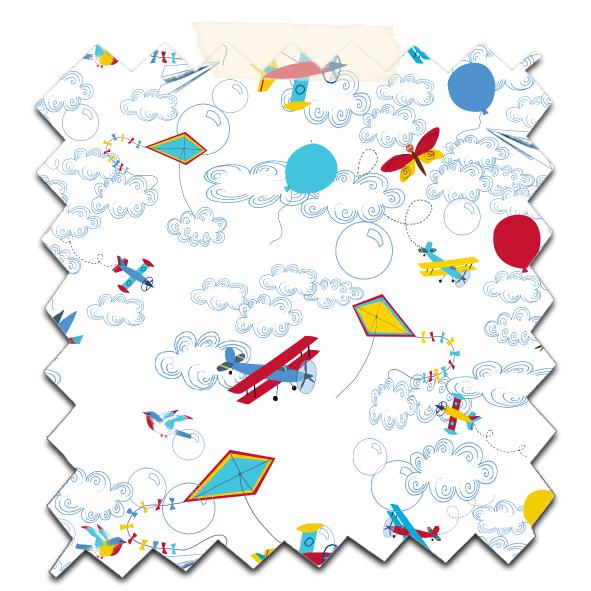 papier scrapbooking à imprimer gratuitement motif avion 11