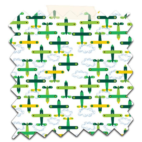 papier scrapbooking à imprimer gratuitement motif avion 6