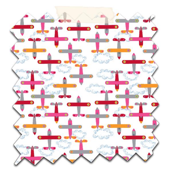 papier scrapbooking à imprimer gratuitement motif avion 7