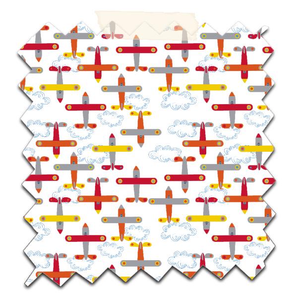 papier scrapbooking à imprimer gratuitement motif avion 8