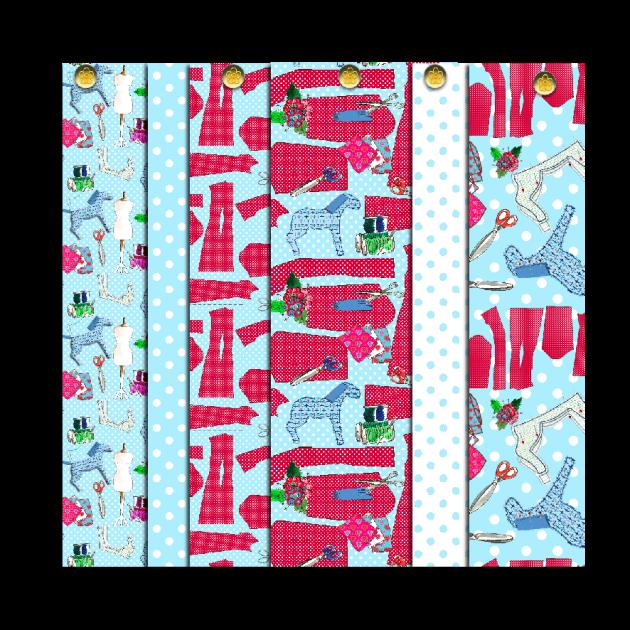 papier scrapbooking gratuit motif couture
