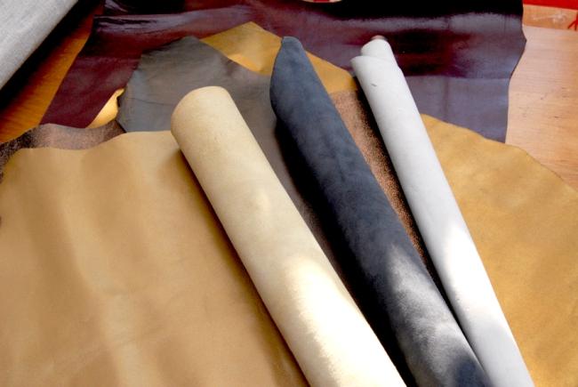 peaux en cuir fantaisies