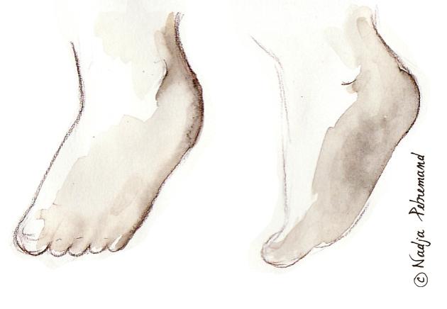 petit pieds