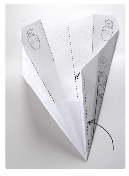 pliage avion de papier 2