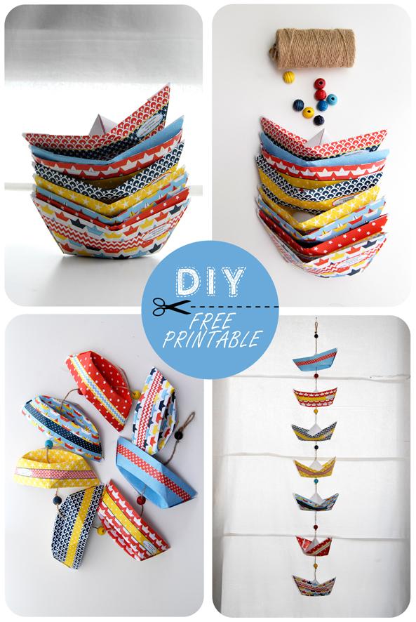 Bateaux origami and serviettes on pinterest - Bateau en papier pliage ...