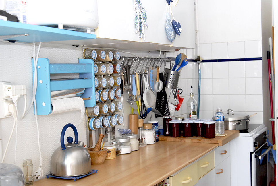 Organisation des pices de la cuisine dans mon bocal - Bocal rangement cuisine ...