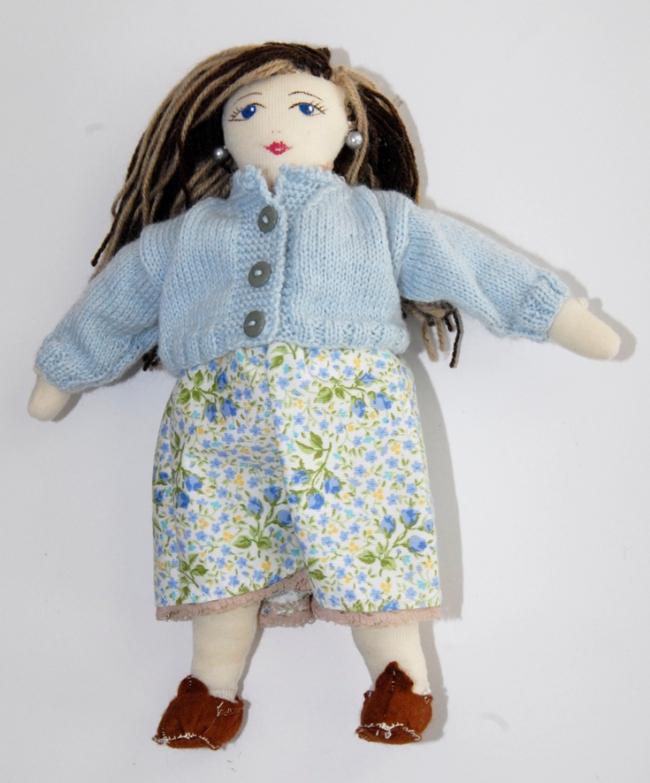 poupée en tissu enceinte 2