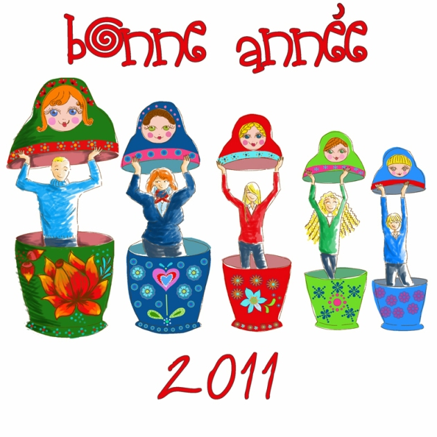 poupée russe carte 2011