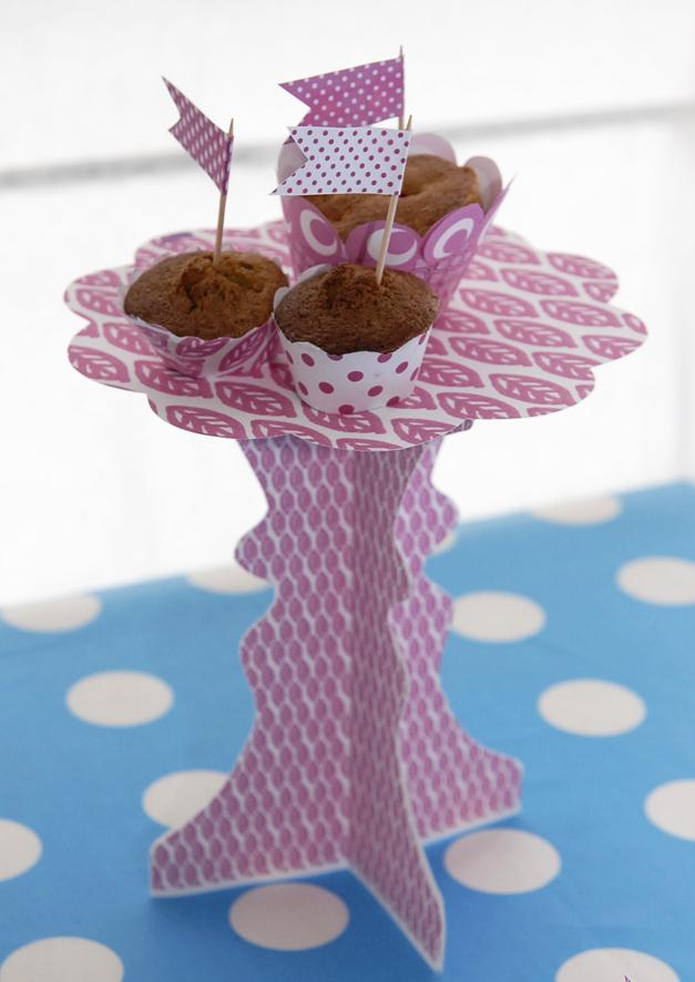 présentoire à cupcake à imprimer gratuitement f