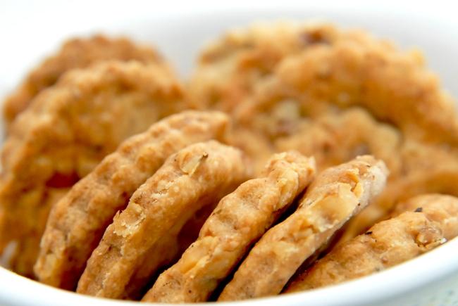 recette crakers au noix et fromage de chèvre 3