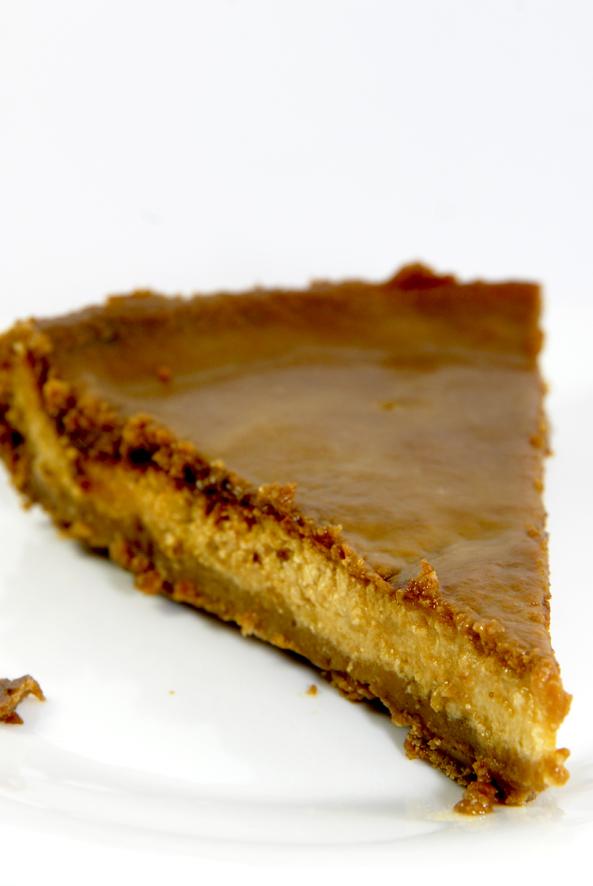 recette tarte au fromage blanc et caramel beurre salé 2