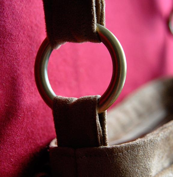 sac à frange aneaux